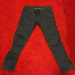 Deconstructed 3D Low Tapered G-Star Jeans